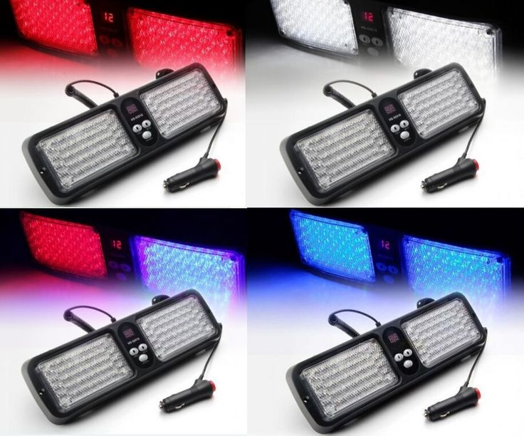 17.18$  Buy here - http://ali3t5.shopchina.info/go.php?t=32805511601 - New 86LED 5 color Car Emergency car Auto Visor Warning Flashing Car Truck LED Top Roof Bar Strobe Light Warning Strobe Light new  #buychinaproducts