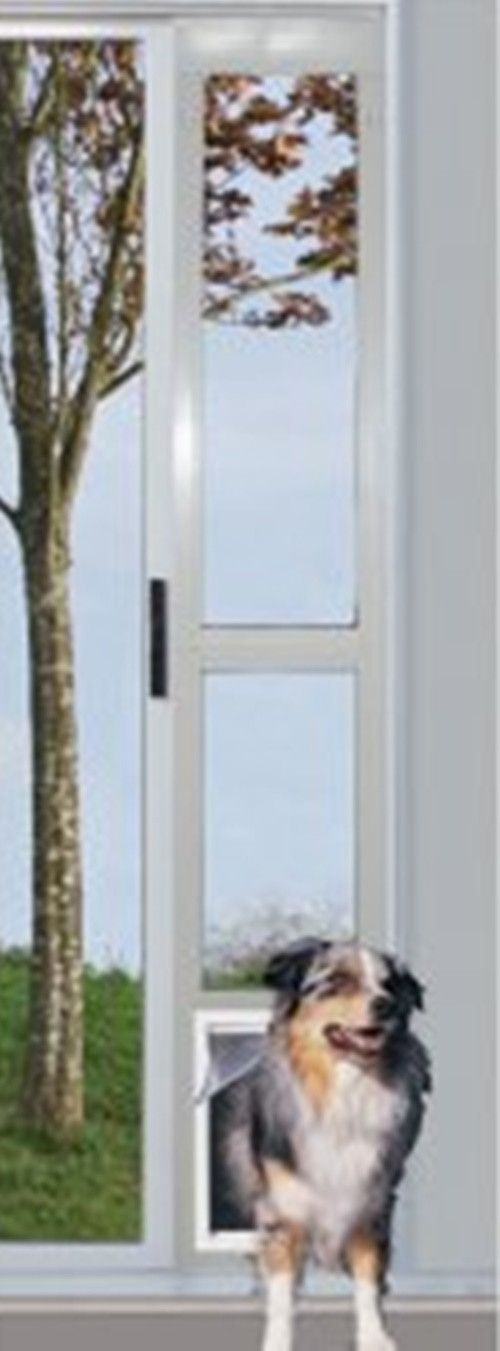 This Modular Sliding Glass Pet Door Is For Aluminum Sliding Patio Doors And  Comes In Two