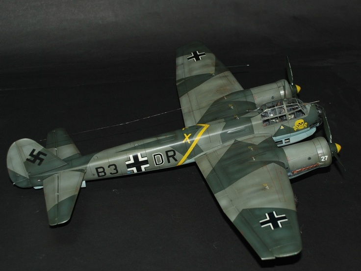 Revell Junkers Ju-88 A.1 Looks like my old MPC kit of the ...