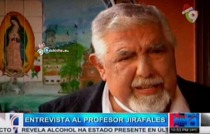 """Entrevista 'El Profesor Jirafales' Ruben Aguirre Habla De La Muerte De 'Chespirito' """"El Chavo Del 8″ #Video"""