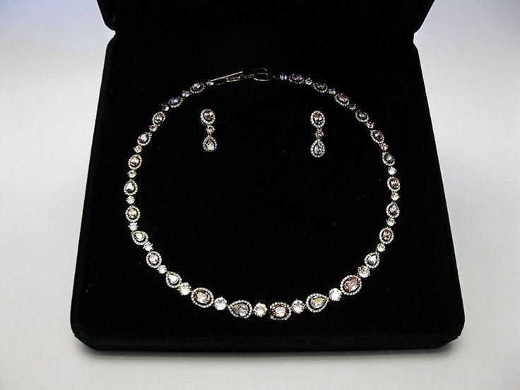 SWAROVSKI ELEMENTS Avon Luck Necklace & Earrings Set  NEW FREE Shipping | eBay