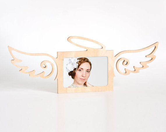 Photo Frame, Angel, 4x6 photo frames, Frame , love, home decor, Wood, decoration, decor, personalized,  frame set,  wooden decoration, gift
