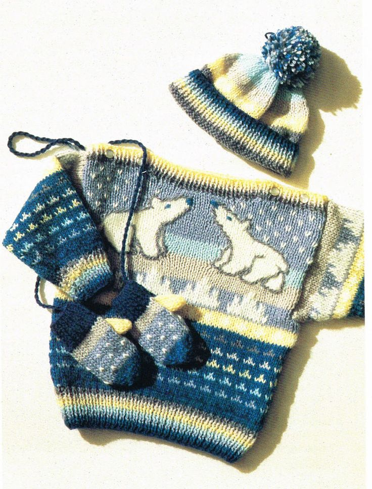 17 Best images about Knitting on Pinterest Free pattern, Baby knitting patt...