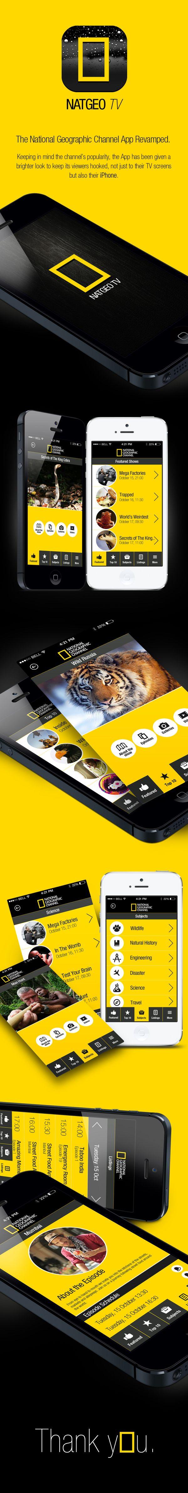 NATGEO TV App Revamped