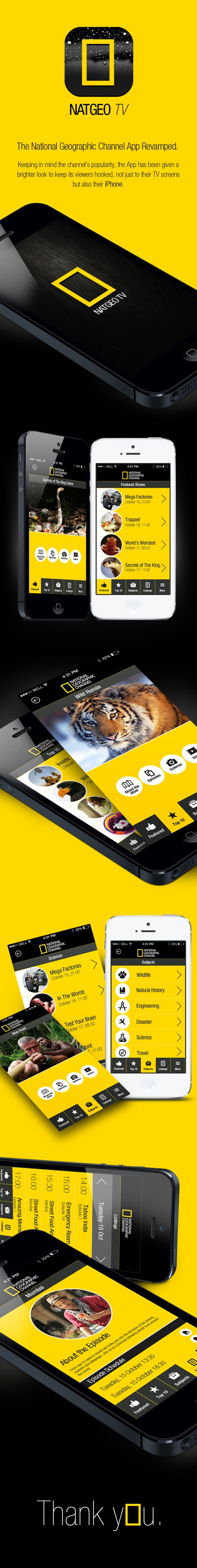NATGEO TV App Revamped