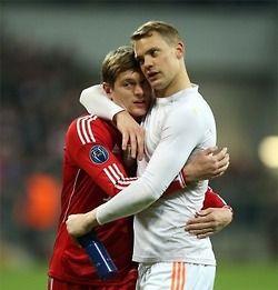 Toni Kroos & Manuel Neuer