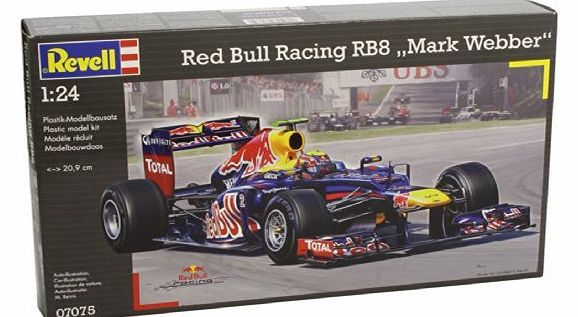 Revell 1:24 Scale Red Bull Racing Mark Webber Revell 1:24 Scale Red Bull Racing Mark Webber (Barcode EAN = 4009803070759). www.comparestorep...