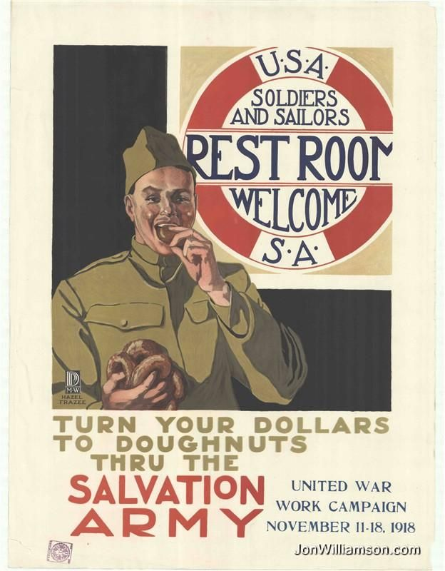 Salvation Army Vintage Poster