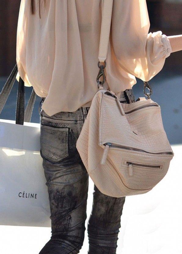 Celine, metallic, Givenchy.