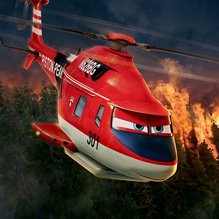 Blade Ranger is a veteran fire-and-rescue helicopter haunted by a storied past.  He is tough and demanding  but he is a pro at everything he does.