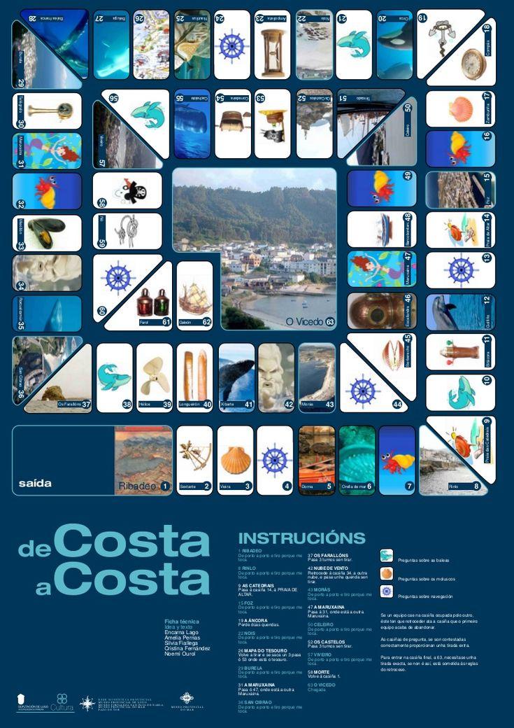 tablero-juego-de-la-oca-version-marina-de-porto-a-porto by Encarna Lago via Slideshare