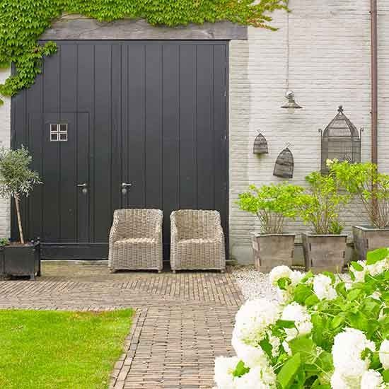 Garden terrace | Rural Flemish home | House tour | PHOTO GALLERY | Homes & Gardens | Housetohome.co.uk