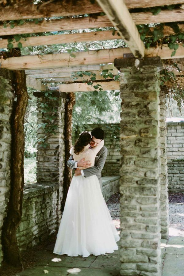 Trendy Enchanting Jewish Wedding in Cleveland Ohio