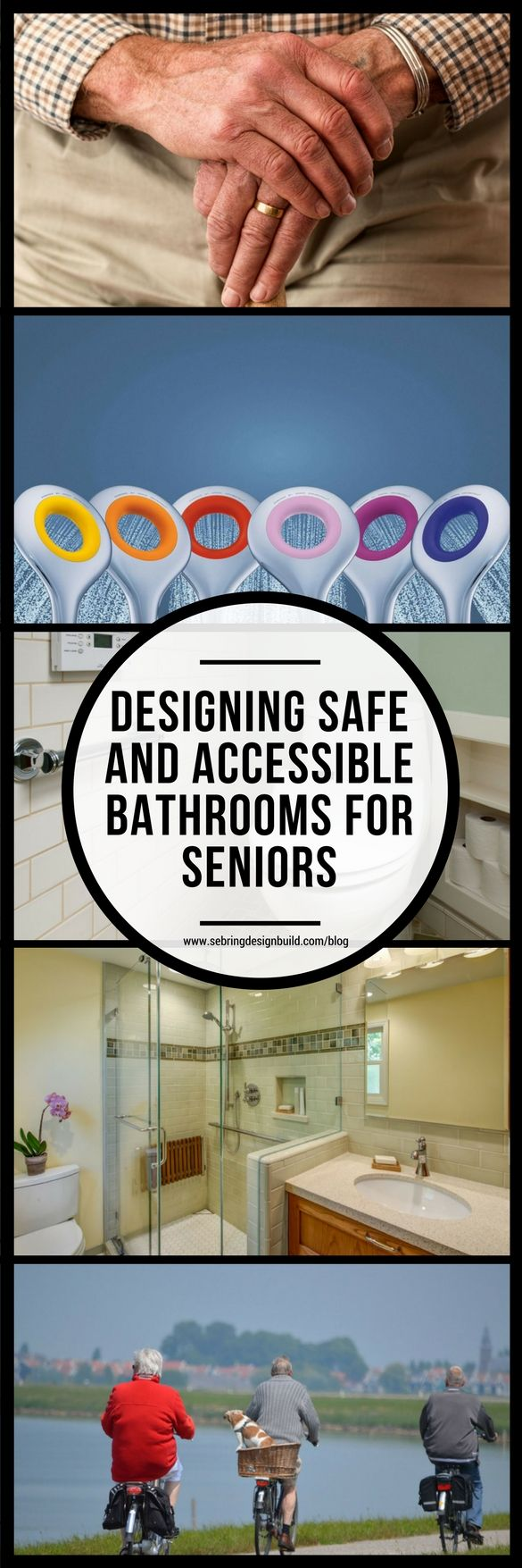 When seniors can safely and easily use the bathroom on their own, it allows them to age in place — and with dignity.  So designing safe and accessible bathrooms are key.  Making accommodations for wheelchairs, walkers, medical equipment, unsteady balance, and more will go a long way in helping your loved one feel independent and safe.