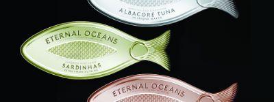 Anthem won met dit concept voor vis-in-blik van het denkbeeldige merk Eternal Oceans recent een gouden Pentaward. Eternal Oceans wil duurzaam gevangen vis promoten met een 'disruptieve en begerenswaardige' verpakking. Van het lipje om het blikje te openen is een brand asset gemaakt en de branding is in het metaal gestanst. Zou het blikje de schappen gaan halen. Wat denkt ons panel van marketeers?