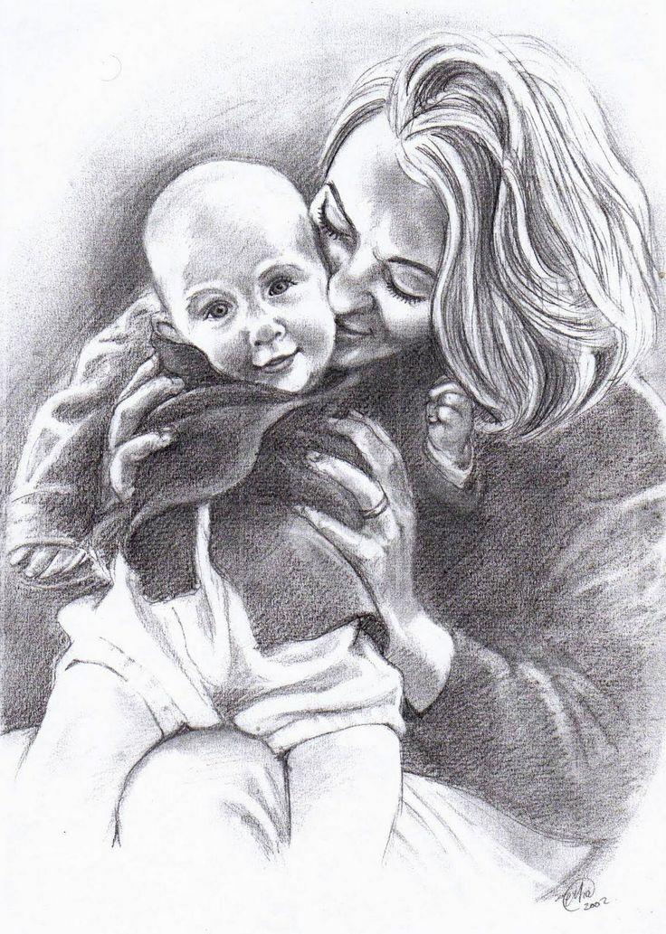 Motherhood , graphite
