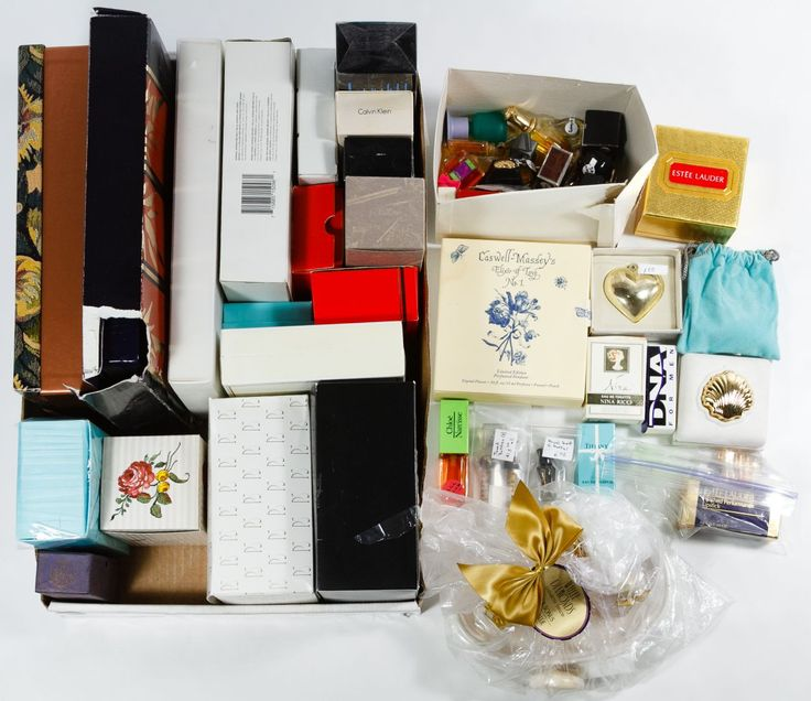 Lot 467: Perfume and After Shave Set Assortments; Including boxed sets from Calvin Klein, Yves St. Laurent, Estee Lauder, Kenzo, Nina Ricci and Tiffany
