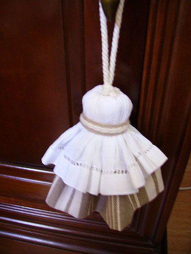 Gland en tissu , Idée déco à fabriquer - Loisirs créatifs