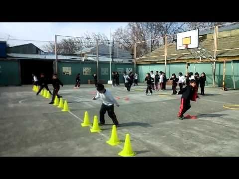 Educación Física Velocidad + Tareas Motrices Fáciles - YouTube