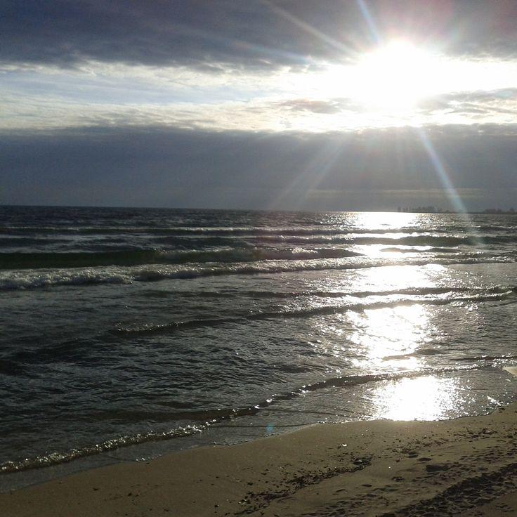 God rays over Lake Ontario