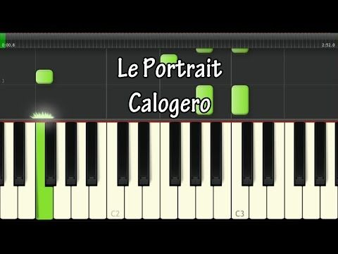 Piano tablature piano debutant : 1000+ ideas about Le Portrait Calogero on Pinterest | Partitions ...