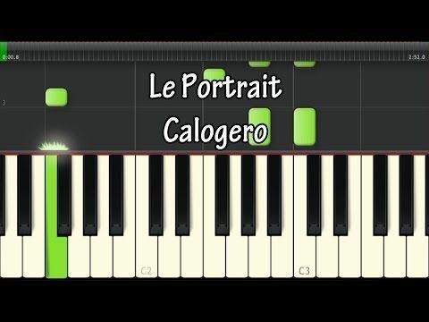 Piano tablature piano debutant : 1000+ ideas about Le Portrait Calogero on Pinterest | Partitions ...