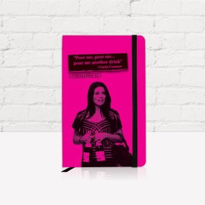 Coronation Street Carla Connor Hardback Notebook