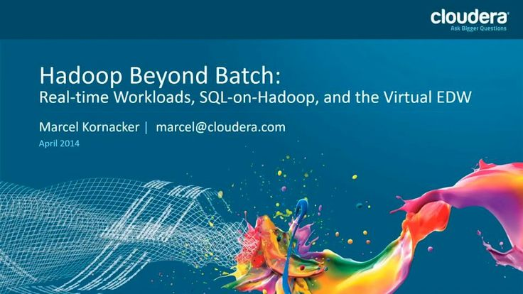Building a Hadoop Data Warehouse with Impala