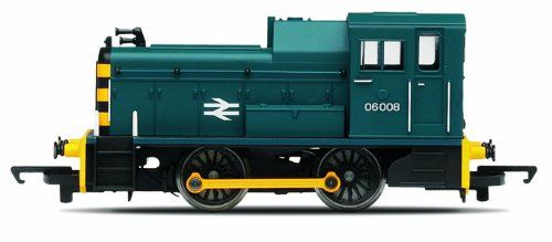 Hornby R3065 RailRoad BR Class 06 Shunter 00 Gauge Diesel Electric Locomotive Toys games and fun for all the family