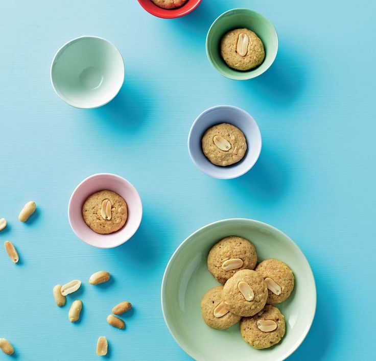 Peanut cookies by Sabrina Parrini from Half-Hour Hungries | Cooked