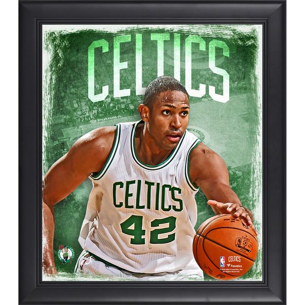 """Al Horford Boston Celtics Fanatics Authentic Framed 15"""" x 17"""" Playmakers Collage - $49.99"""
