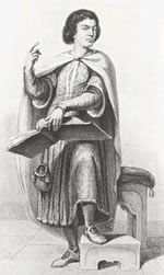 """Peter Abelard was a medieval French scholastic philosopher, theologian and preeminent logician.[1] The story of his affair with and love for Heloise has become legendary. The Chambers Biographical Dictionary describes him as """"the keenest thinker and boldest theologian of the 12th Century"""""""