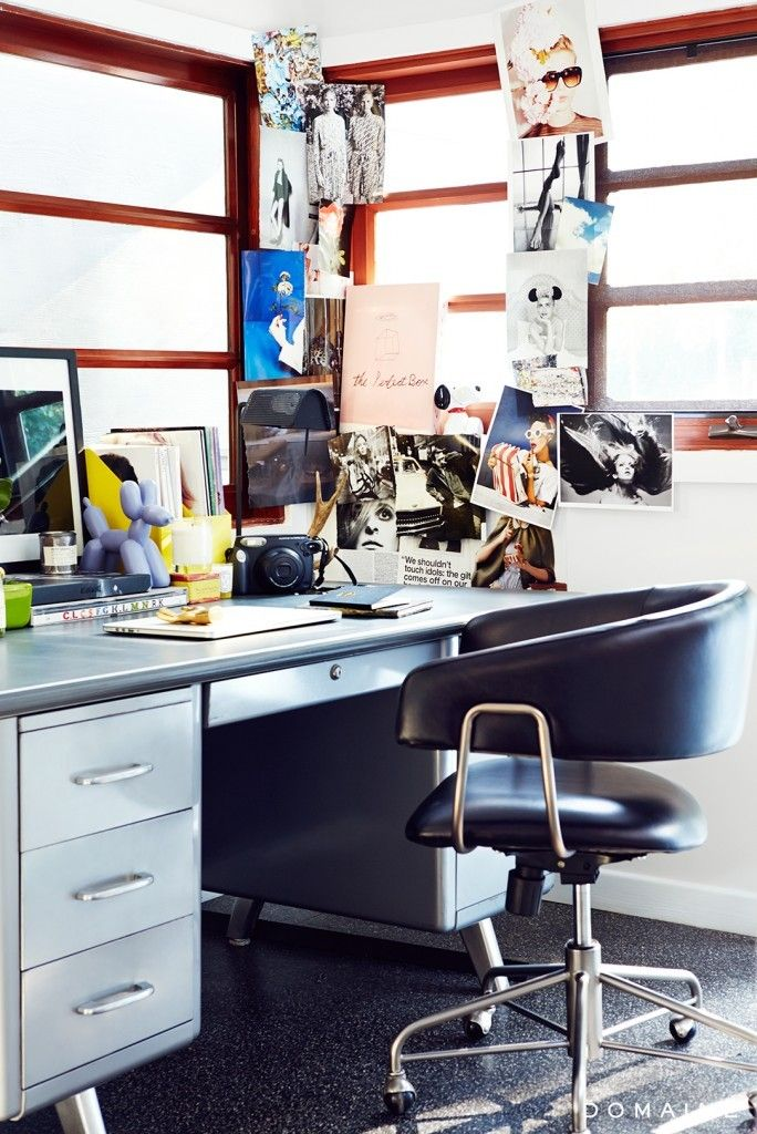 Tour This Amazing Fashion Blogger S Transitional Home Office: Chiara Ferragni, Los Angeles Homes, Home