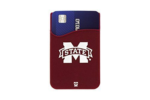 CWS REGIONALS & FATHER'S DAY! Mississippi State Bulldogs Phone Pocket (Phone Wallet). Adheres to back of cell phone. by Sports Team Accessories, http://www.amazon.com/dp/B01JDT8S98/ref=cm_sw_r_pi_dp_x_lHknzb22ASGD8