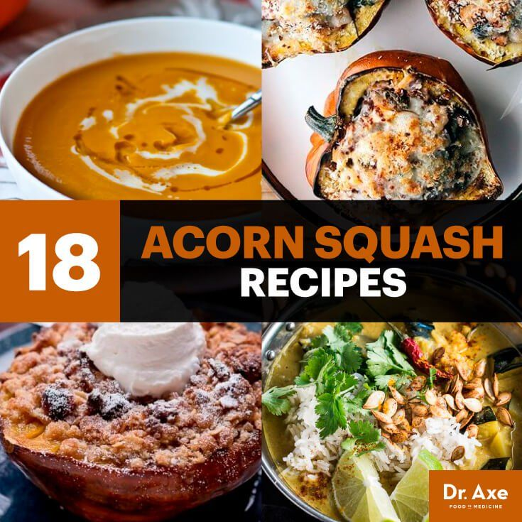 Acorn squash recipes - Dr. Axe