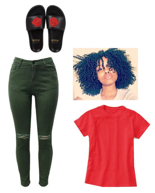 """""""Sum simple !!!!! Issa late night run outfit"""" by breezybre27 on Polyvore featuring BUSCEMI"""