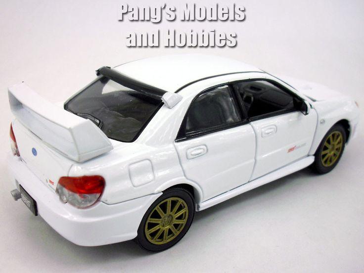 Subaru Impreza WRX STI 1/24 Scale Diecast Metal Model by Motormax