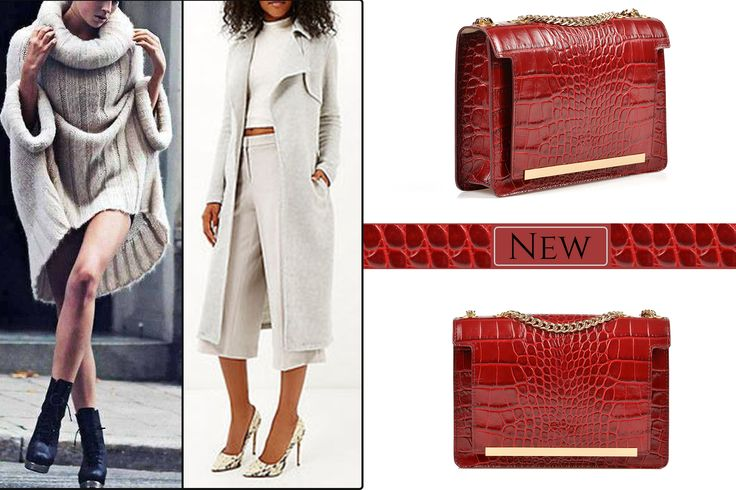 The Bordeaux Medium Lauren is a perfect accessory for stylish outfits @w