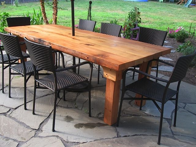 Captivating Heavy Antique Wooden Table Indutrial Age | Wood Farm Tables For Rent,  Custom Wooden Harvest