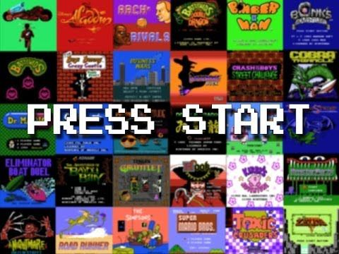 PRESS START (+playlist) - a collection of EVERY SINGLE Nintendo Entertainment System (NES) game start screen in alphabetical order!!!