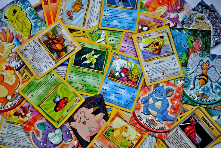 Collecting Pokemon Cards