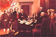 The roots of our country's trade unions extend deep into the early history of America. Printers were the first to go on Strike in 1794 for shorter hours and higher pay.
