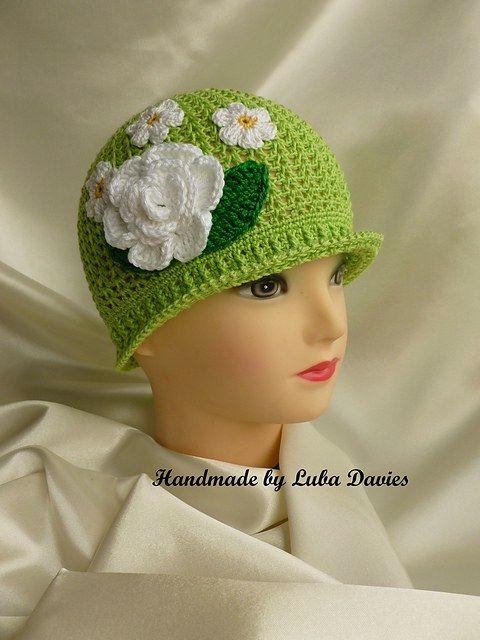 Summer Cloche Crochet Hat - Free Pattern