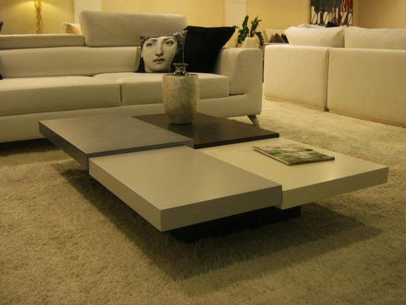 contemporary coffee table by craftworksfurniture on Etsy