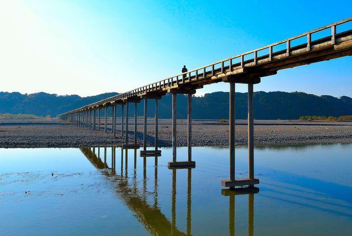 蓬莱橋(静岡県)