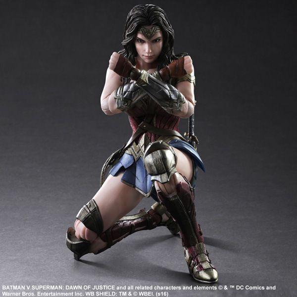 Хэллоуин Игрушка в Подарок DC Лига Справедливости Фигурку Коллекция 25 см ПА Wonder Woman Модель Куклы Подвижный Украшения купить на AliExpress