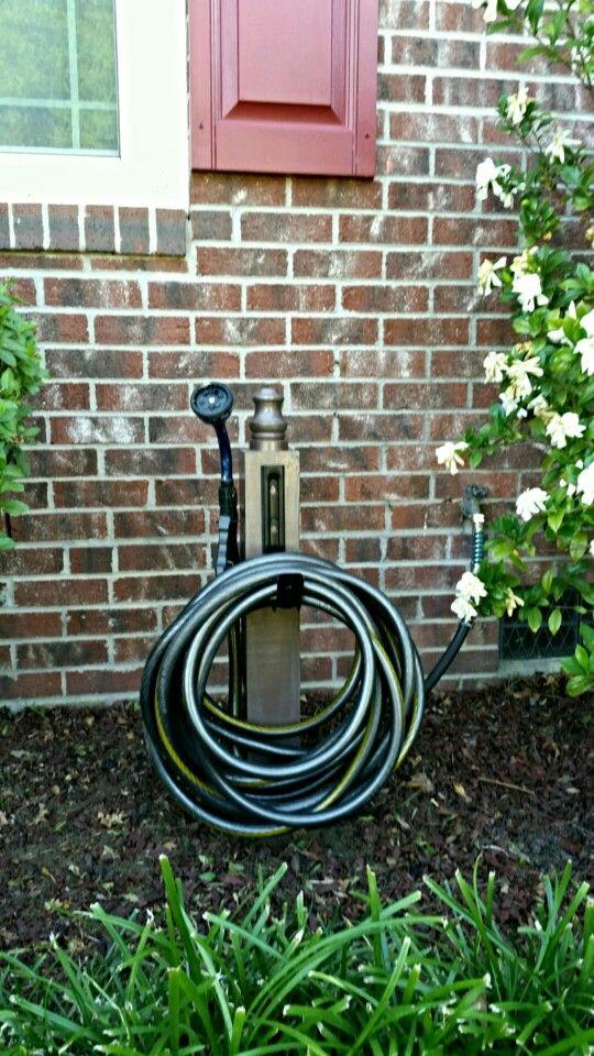 Diy hose reel Hose reel, Hose, Garden hose