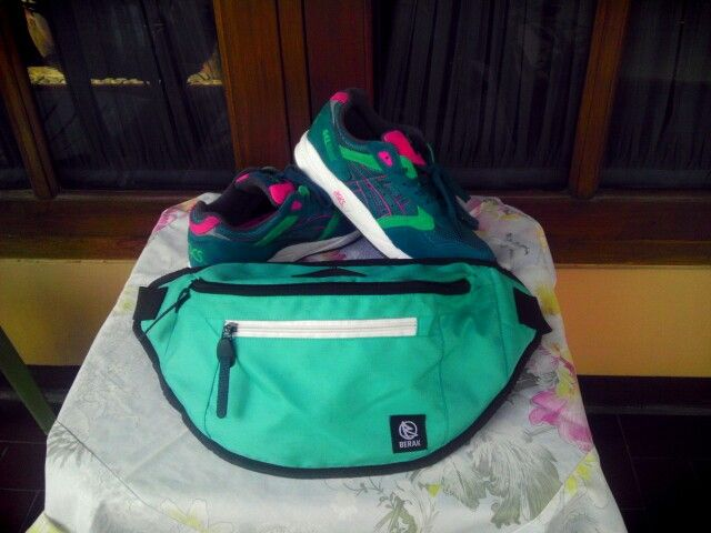 Waist bag and shoes for RUN!!!