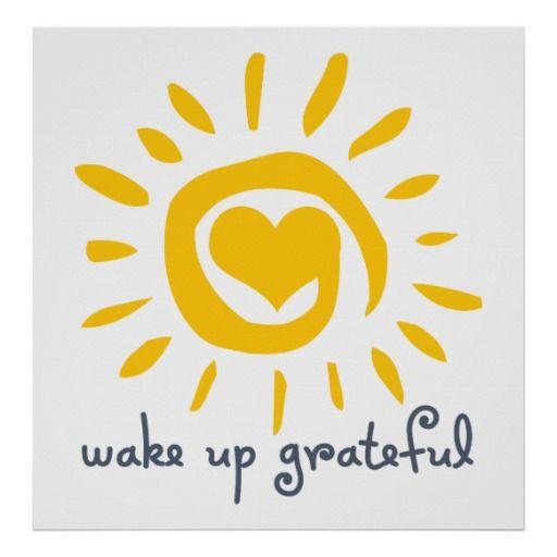 Wake Up Grateful Poster