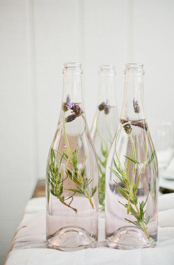 Lavender decor. Photo by Kristyn Hogan. Styling by Cedarwood Weddings. http://www.theweddingnotebook.com